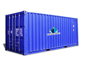 standard marine container